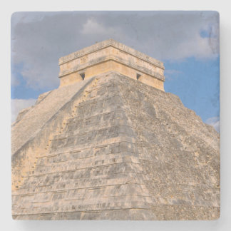 Chichen Itza Mayan Temple in Mexico Stone Coaster
