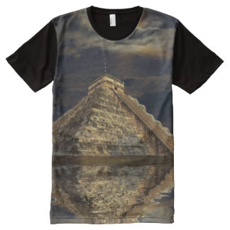 Chichen Itza Mayan Temple of the Sacred Moon All-Over Print T-Shirt