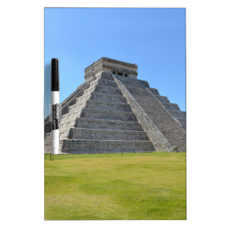 Chichen Itza Mexico Kukulkan Pyramid 7 Wonders Dry-Erase Whiteboards