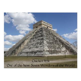 Chichen Itza Mexico Postcard