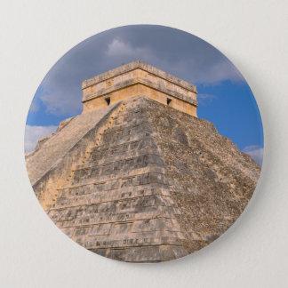 Chichen Itza Ruins in Mexico 10 Cm Round Badge