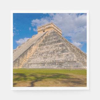 Chichen Itza Ruins in Mexico Disposable Serviette