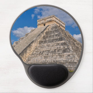 Chichen Itza Ruins in Mexico Gel Mouse Pad