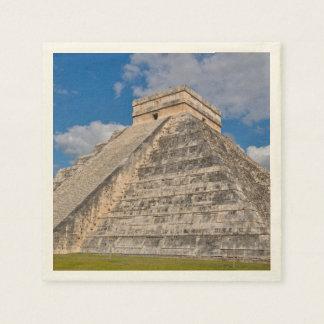 Chichen Itza Ruins in Mexico Paper Napkins