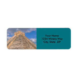 Chichen Itza Ruins in Mexico Return Address Label