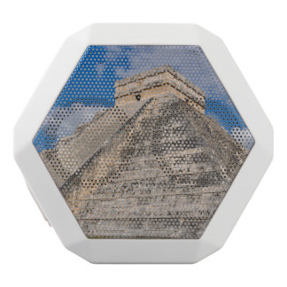 Chichen Itza Ruins in Mexico White Bluetooth Speaker
