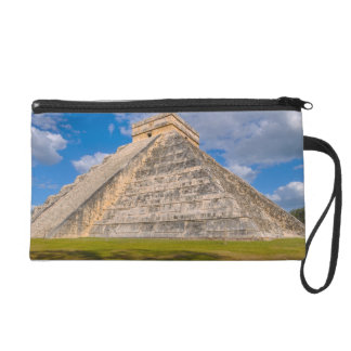 Chichen Itza Ruins in Mexico Wristlet Purses