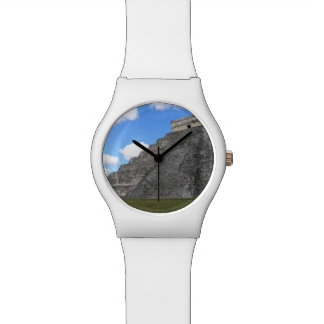 Chichen Itza Temple of Kukulcan south-west View Watches