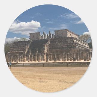 Chichen Itza Temple of the Warriors Stickers