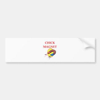 CHICK BUMPER STICKER