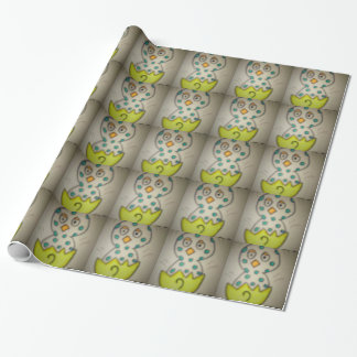 chick cockles (3) wrapping paper