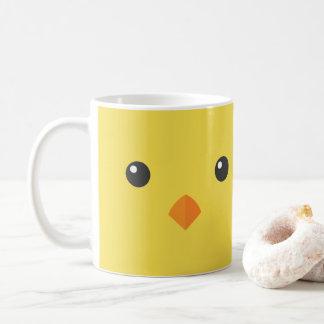 Chick Face Coffee Mug