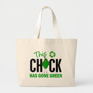 Chick Gone Green 2 Tote Bag