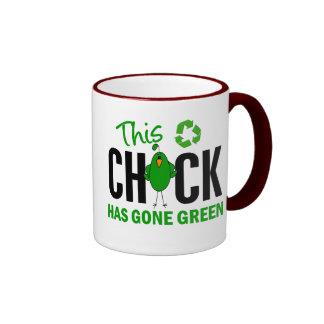 Chick Gone Green 2 Mug
