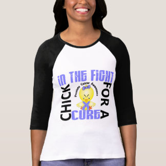 Chick In The Fight Prostate Cancer T-Shirt
