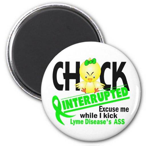 Chick Interrupted 2 Lyme Disease Fridge Magnet