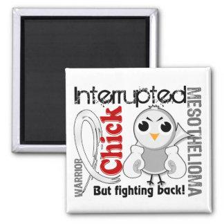 Chick Interrupted 3 Mesothelioma Refrigerator Magnet