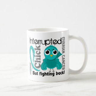 Chick Interrupted 3 Ovarian Cancer Basic White Mug