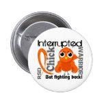 Chick Interrupted 3 RSD Reflex Sympathetic Dystrop 6 Cm Round Badge