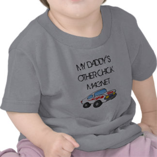 Chick Magnet muscle car Baby T-Shirts