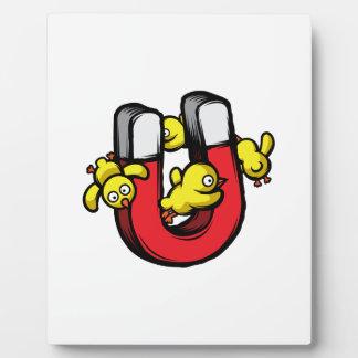 Chick Magnet Plaque