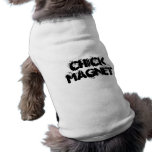 CHICK MAGNET RIBBED DOG TEE