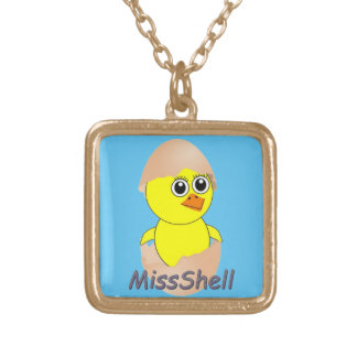 Chick  MissShell Gold Plated Necklace