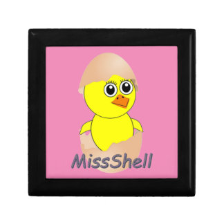 Chick  MissShell Small Square Gift Box