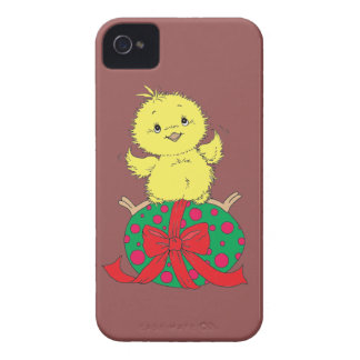 Chick on Easter Egg iPhone 4 Cover