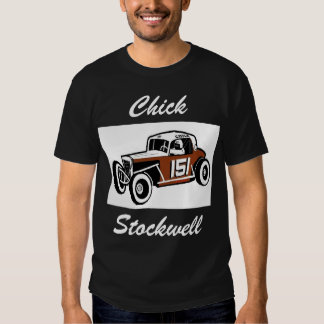 Chick Stockwell Old Time Race Car Racearena T-shirts
