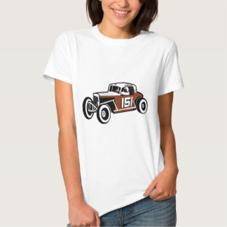 Chick Stockwell Old Time Race Car Racearena Tees