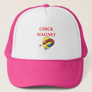 CHICK TRUCKER HAT