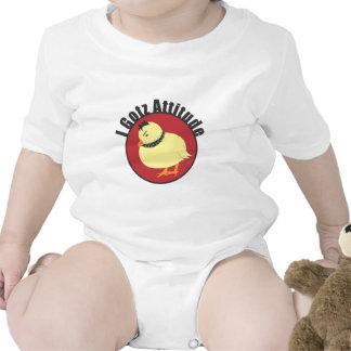 chick-tshirt_attitude baby bodysuits