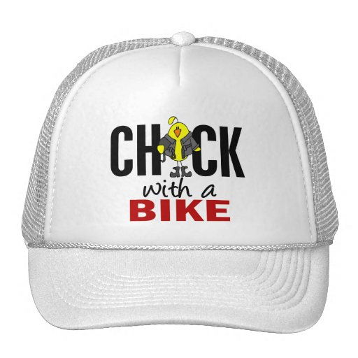 Chick With A Bike Hats