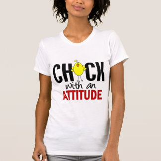Chick With An Attitude Tshirt
