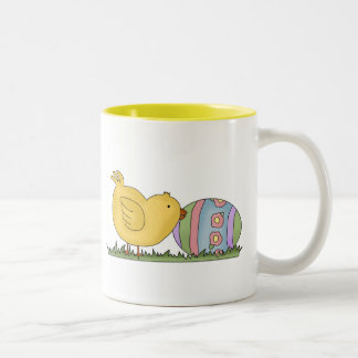 Chick With Decorated Egg T-shirts and Gifts Coffee Mug