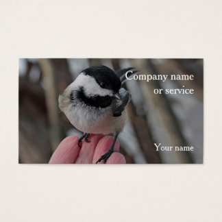 Chickadee Business Card