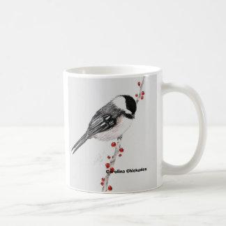chickadee, Carolina Chickadee Coffee Mug