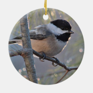 Chickadee Ceramic Ornament