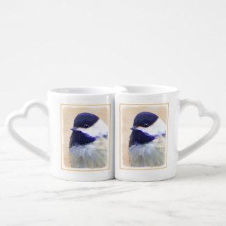 Chickadee Coffee Mug Set