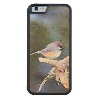 Chickadee in the Twilight: Maple iPhone 6 Bumper Case