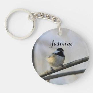 Chickadee Key Ring