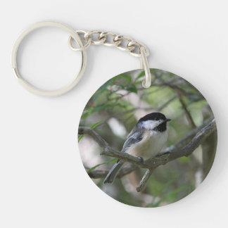 Chickadee Key Ring