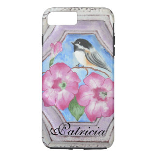 Chickadee & Petunias Phone iPhone 7 Plus Cases