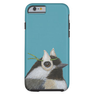 chickadee/pumpkin seed mask iPhone 6/6s case