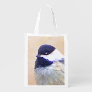 Chickadee Reusable Grocery Bag