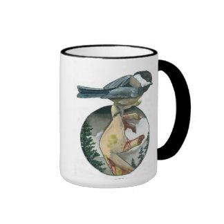 """""""Chickadee"""" Ringer Mug"""
