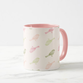Chickadee Soft Pattern Mug