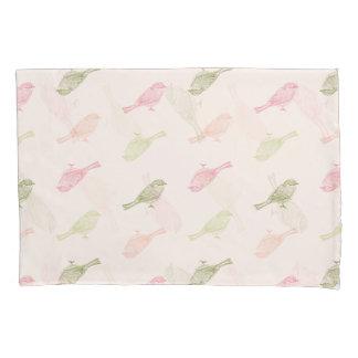Chickadee Soft Pattern Pillow Case