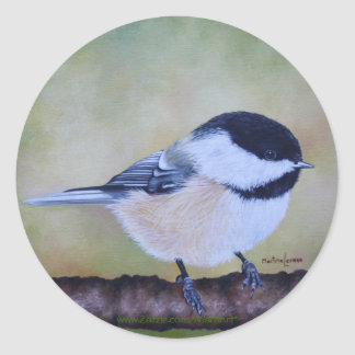 Chickadee Stickers